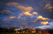 sunset paysage provenant de Photo couché de soleil